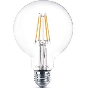 фото Лампа PHILIPS LED Fila Dim E27 7-70W 2700K 230V G93 CL (929001229008)