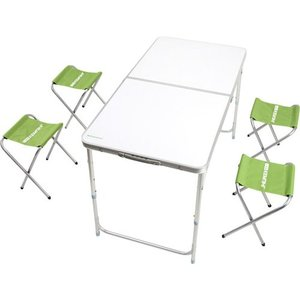фото Раскладной стол КЕМПІНГ XN-12064 + 4 стула (4823082711444)