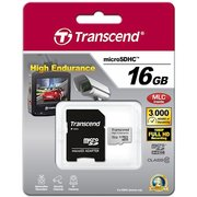 фото Карта памяти TRANSCEND microSDHC 16 GB Class 10 High Endurance (TS16GUSDHC10V)