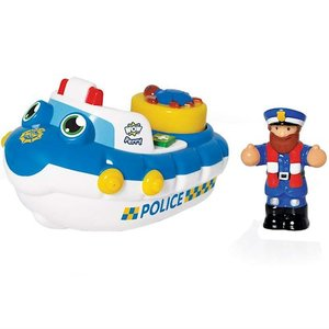 фото Игрушка для ванной WOW TOYS Police Boat Perry (10347)
