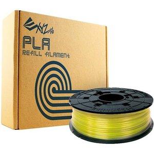фото Катушка XYZPRINTING 1.75мм/0.6кг PLA da Vinci,прозр.желтый (RFPLBXEU03B)
