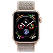 фото Смарт-часы APPLE Watch Series 4 40mm Gold Aluminium with Pink Sand Sport Loop (MU692UA/A)