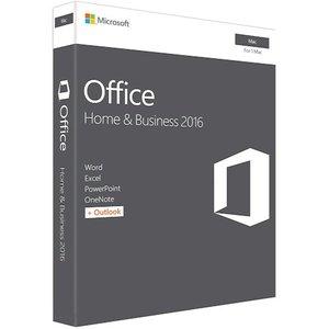 фото Программное обеспечение MICROSOFT Office Mac Home Business 1PK 2016 English (W6F-00855)