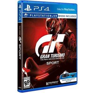 фото Игра Gran Turismo Sport PS4