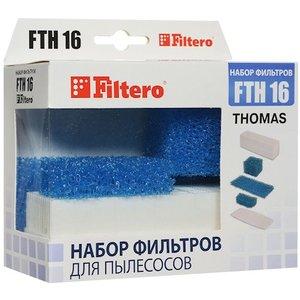 фото Набор фильтров FILTERO FTH 16 для пылесосов Thomas