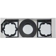 фото Набор зеркал EVG BLACK set 3 (BIN 1124417)