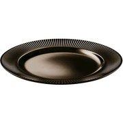 фото Тарелка IPEC ATENA 27 см коричневый (FIA27M)